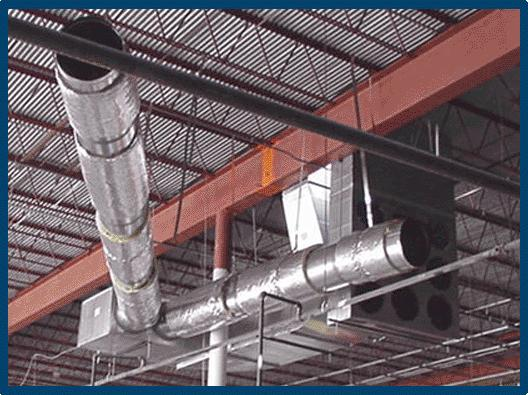 hvac duct install